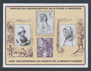 St. Thomas & Prince Isl. #526 NH Albrecht Durer Death Anniv.