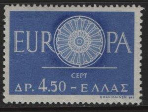 GREECE, 688, HINGED, 1960, EUROPA