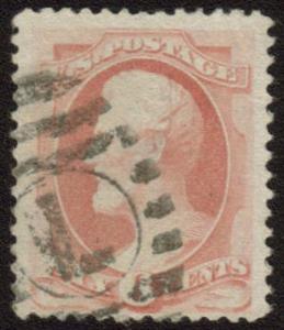 MALACK 159 VF/XF, big stamp,  Choice! n7448