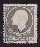 Iceland    #89  used   1911  Jon Sigurdsson  6a