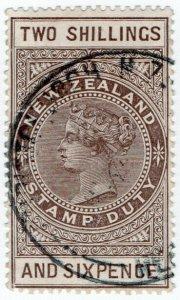 (I.B) New Zealand Revenue : Stamp Duty 2/6d