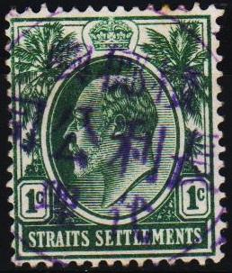 Straits Settlements. 1903 1c S.G.127 Fine Used