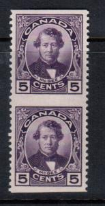 Canada #146c Very Fine Never Hinged Imperf Pair