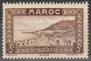 French Morocco #126 F-VF Unused  (SU6186)