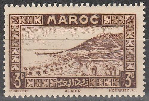 French Morocco #126 F-VF Unused  (SU6186)