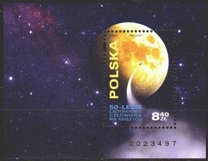 Poland. 2019. bl 289. Astronomy, planet. MNH.