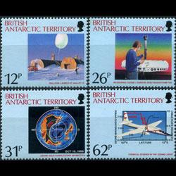 BR.ANTARCTIC TERR. 1991 - Scott# 176-9 Ozone Set of 4 NH