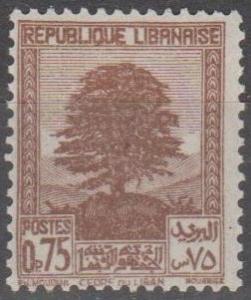 Lebanon #138A  MNH F-VF  (ST2292)