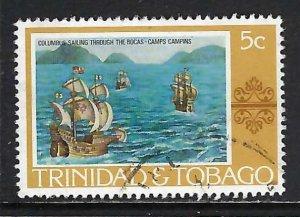 TRINIDAD & TOBAGO 262 VFU COLUMBUS H1246-3