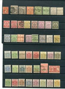 Transvaal  Mint and Used collection F-VF  2 scans -  Lakeshore Philatelics