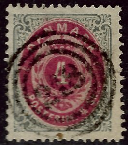 Denmark #18 Used F-VF SCV$8...choose your price!