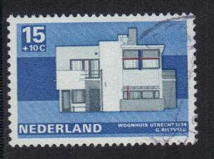 Netherlands 1969  used  cultural welfare 15 ct     #
