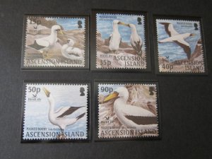 Ascension 2004 Sc 838-42 bird set MNH