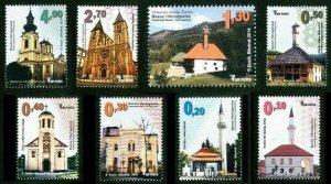 BOSNIA & HERZEGOVINA/2014, Religious Buildings, MNH