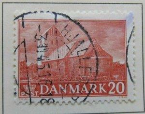 A6P23#155 Denmark 1944 20o used