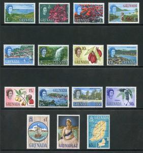 Grenada SG231/45 1966 Set Fresh M/M