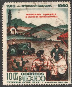 MEXICO 913, 10¢ 50th Anniv Mexican Revolution. Used. F-VF. (1131)