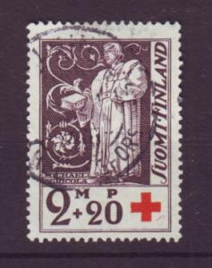 J19329 Jlstamps 1933 finland used #b13 red cross