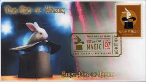 18-223, 2018, The Art of Magic, Digital Color Postmark, FDC, Rabbit