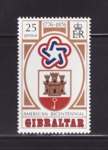 Gibraltar 329 Set MNH American Bicentennial (A)