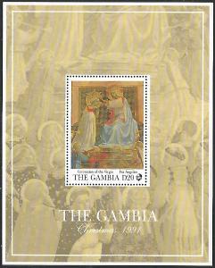 Gambia #1171 MNH Souvenir Sheet