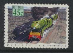 Australia SG 1413  Used  -Trains self adhesive