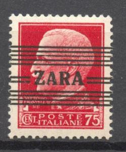 German Occupation Zara, Mi.33, MNH, signed Krischke, BPP