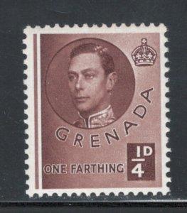 Grenada 1937 King George VI 1/4p Scott # 131 MH
