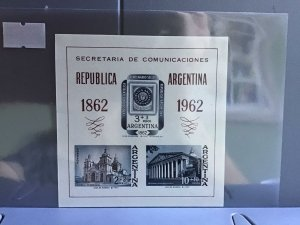 Argentina Philatelic Exhibition 1862-1962 MNH  stamps sheet  R26999