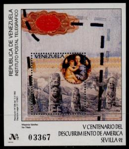Venezuela 1470 MNH Art, Statues, Muaricio Sanchez
