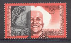 Belgium Sc 1336 1990 Int Women's Day stamp mint NH