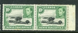 BRITISH KUT; 1940s early GVI pictorial issue MINT MNH 10c. Pair