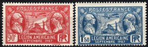 France #243-4 MNH CV $10.00 (X2378)
