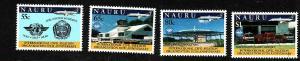 Nauru-Sc#411-14-Unused NH set-Planes-Aircraft-ICAO-1994-