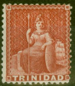 Trinidad 1863 Rose SG70 Fine Mtd Mint