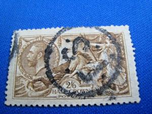 GREAT BRITAIN  -  SCOTT # 173  -   Used      (brig)