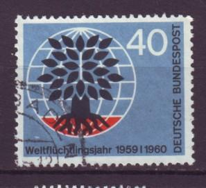 J9222 JL stamps @20% 1960 germany used hv set #808