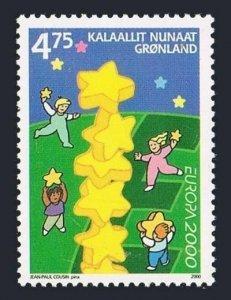 Greenland 363,MNH.Michel 355. EUROPE CEPT-2000.Millennium,Stars.