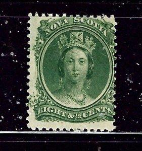 Nova Scotia 11 MNH 1860 issue   probably regummed many years ago