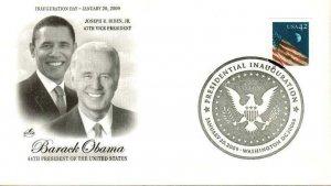 Artcraft Inauguration Day 2009 Barrack Obama Joe Biden Presidential Cancel