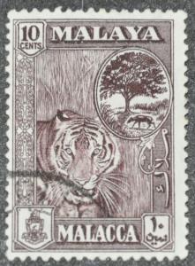 DYNAMITE Stamps: Malaya Malacca Scott #61 – USED