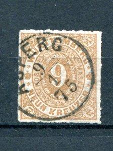 Wuerttemberg  #51   Used F-VF  - Lakeshore Philatelics