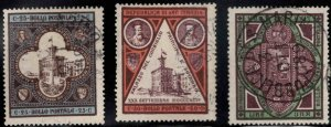 San Marino Scott 29-31 Used 1894 stamp set CV $24