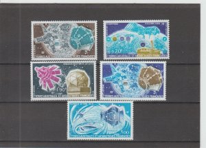 French Southern and Antarctic Territories  Scott#  C49-C53  MNH  (1977)
