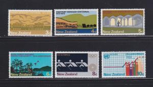 New Zealand 511-516 Set MH Various (C)
