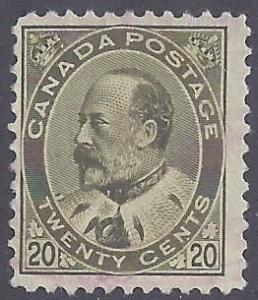 Canada scott #94 Used