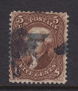 95 F-VF used neat cancel with nice color cv $ 900 ! see pic !