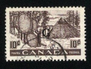 Canada #O26   u    VF 1950-51 PD