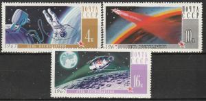 Russia #3316-8  MNH CV $3.00  (K30)