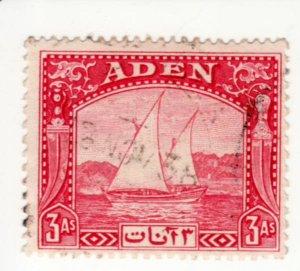 Aden #6  Used, CV $9   .....   0020006